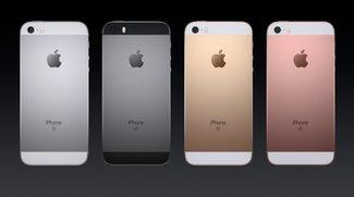 iPhone SE, das kleinste Top-Smartphone der Technikwelt, soeben vorgestellt