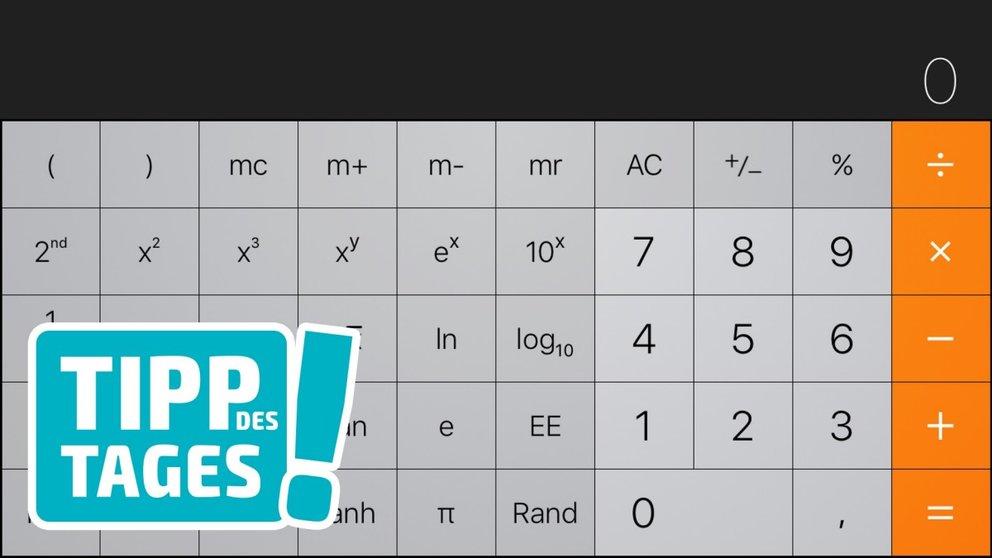 iPhone-Tipp: Der versteckte komplexe Taschenrechner in iOS