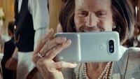 LG G5: Action-Star Jason Statham bewirbt das Smartphone – in Frauenkleidern