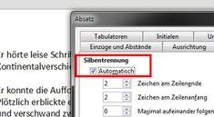 LibreOffice: Silbentrennung aktivieren / deaktivieren – so geht's