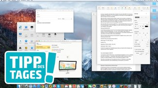 Mac-Tipp: Programmfenster schnell ausblenden und ins Dock legen