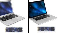 SSD-Upgrades mit bis zu 1 Terabyte für MacBook Air/Pro 2013 und neuer