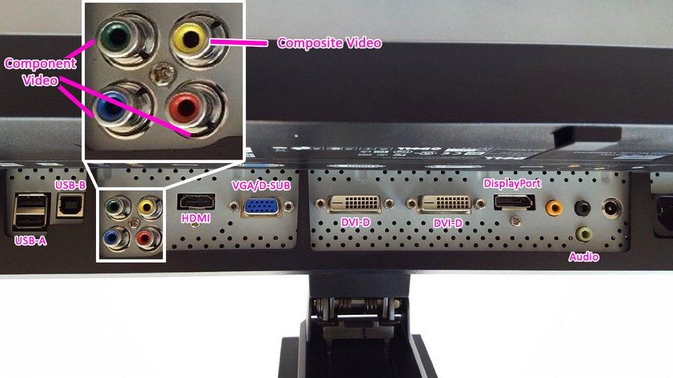 Monitor-Anschlüsse: Das sind die gängigsten Bildschirm-Ports.