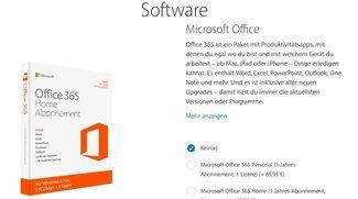 Apple adelt Microsoft: Office 365 als Option für iPad-Besteller im Apple Store