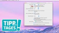 Mac-Tipp: Menüleiste von OS X ausblenden und bearbeiten