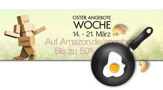 Oster-Angebote-Woche bei Amazon: Schnäppchenjagd mit höherer Blitz-Deals-Frequenz