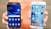 Samsung Galaxy S7 edge vs. iPhone 6s Plus im Drop-Test