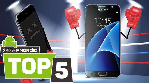 5 Gründe, warum das Samsung Galaxy S7 besser als das iPhone 6s ist