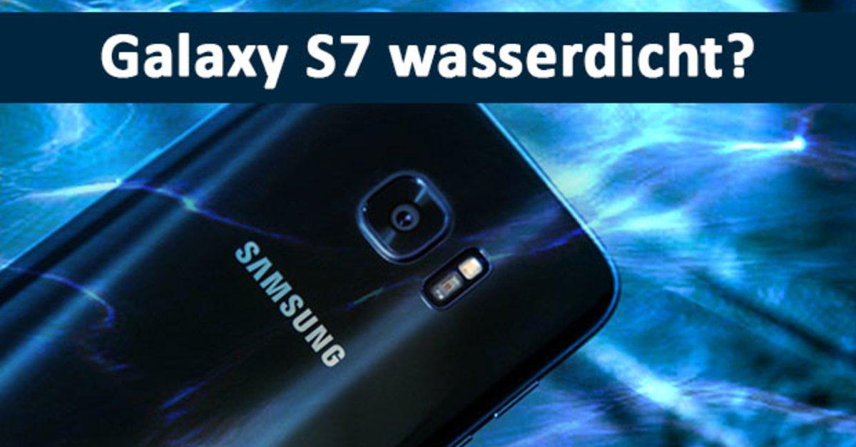Ist Das Samsung Galaxy S7 Edge Wasserdicht Smartphone
