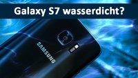 Ist das Samsung Galaxy S7 (edge) wasserdicht? (Smartphone)