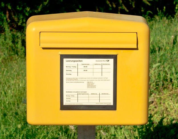 Wo ist der nächste Briefkasten?