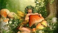 Holla, die Waldfee: Herkunft, Bedeutung und Synonyme zur Redewendung
