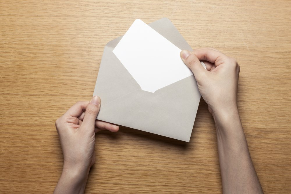 Briefumschlag Bedrucken App