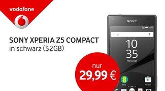Sony Xperia Z5 Compact plus 2 GB Internet- und Telefonie-Flat für Junge Leute und Studenten nur 29,99 Euro im Monat