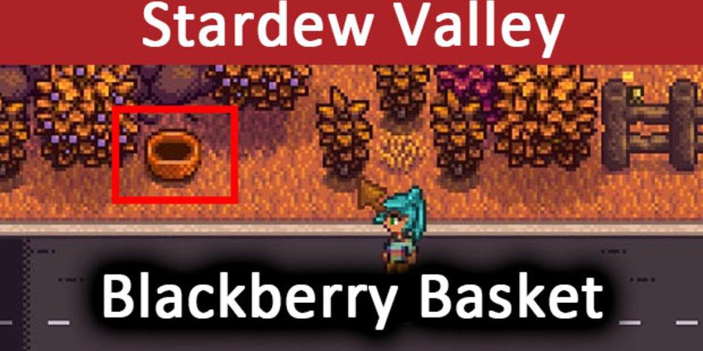Stardew Valley: Blackberry Basket – So findet ihr Linus Brombeeren-Korb