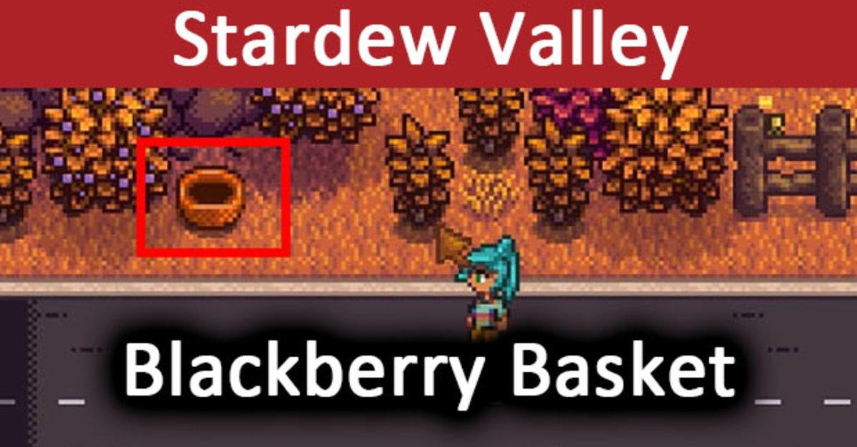 grand choix de 9c6df 42cfc Stardew Valley: Blackberry Basket – So findet ihr Linus Brombeeren-Korb