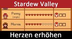 Stardew Valley: Herzen erhöhen bis Romanze / Heirat / Kind – So geht's (auch mit Cheat)