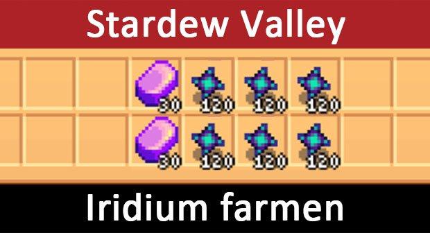 Stardew Valley: Iridium farmen – So geht's
