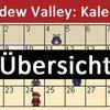 Stardew Valley: Geburtstag aller Einwohner in der Kalender-Übersicht