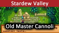Stardew Valley: Old Master Cannoli – Was bedeutet die Statue und sweetest taste?
