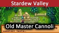 Stardew Valley: Old Master Cannoli – Was bedeutet die Statue und sweetest taste?