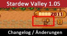 Stardew Valley: Patch 1.05 / 1.06 – Changelog und Änderungen zum Update