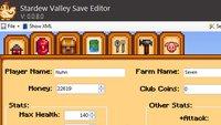Stardew Valley: Save Editor Download – Ändert Inventory-Items, Charakter-Werte, Haustier, Farm und mehr