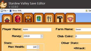 Stardew Valley: Save Editor Download – Ändert Inventory-Items, Charakter-Werte, Haustier, Farm und mehr