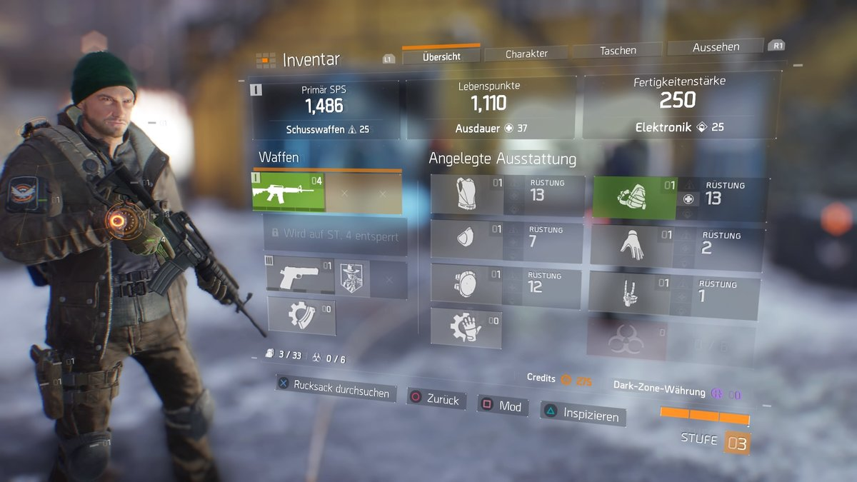 The Division Beste Waffe
