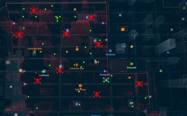 The Division: Dark-Zone-Bosse - Karte mit Fundorten