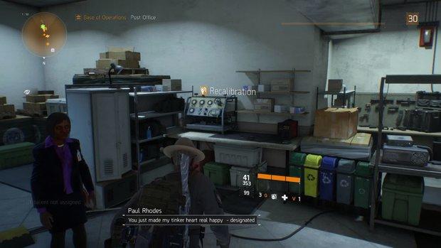 The Division: Ausrüstung verbessern - so verändert ihr Boni und Attribute