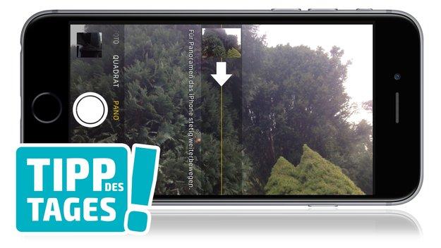 Tipp: Vertikales Panorama mit dem iPhone erstellen – fürs große Ganze