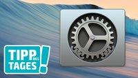 Tipp: Systemeinstellungen des Macs schneller aufrufen