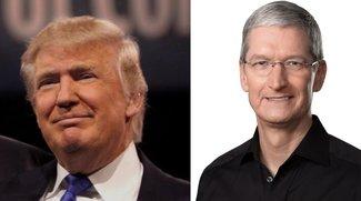 Tim Cook, andere CEOs und Republikaner sprechen über Donald Trump