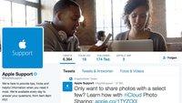Apples Twitter-Support: 100 Tweets pro Stunde am ersten Tag