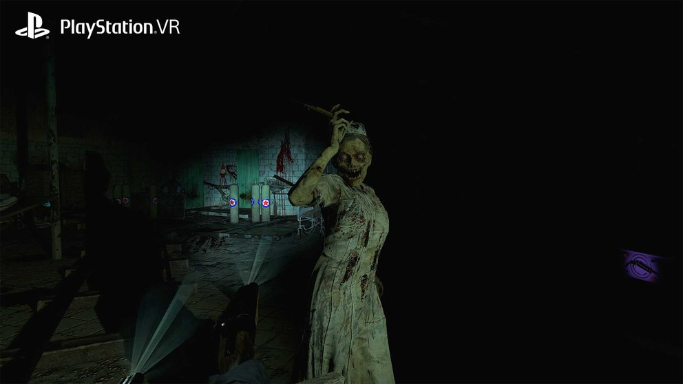until dawn rush of blood nurse