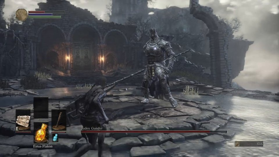 Video-Bild: Dark Souls 3: Iudex Gundyr - Bosskampf (3)
