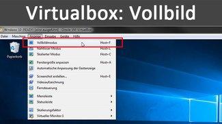 Virtualbox: Vollbild / Fullscreen aktivieren – So geht's