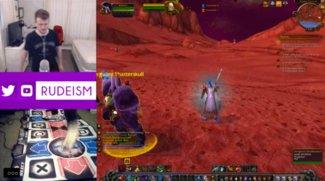 Spieler versucht Level 100 bei World of Warcraft zu erreichen - indem er Tanzmatten benutzt