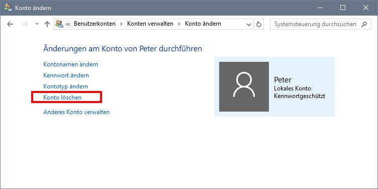Microsoft konto alternative email adresse ändern
