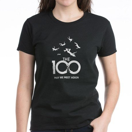 the 100 merchandise t-shirt