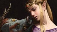 The Legend of Zelda: So sehen die Figuren als Kunstwerke des 17. Jahrhunderts aus