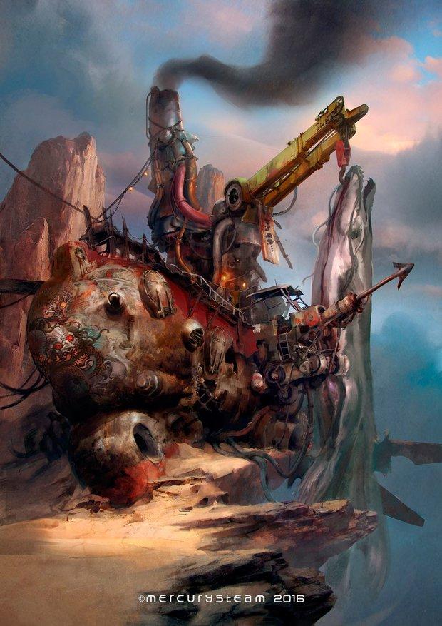 Raiders of the Broken Planet: Lords-of-Shadow-Entwickler sichern sich Markenschutz für neues Action-Adventure