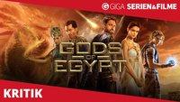 Gods of Egypt Filmkritik: Als hätte ein Irrer im Bernsteinzimmer eine Porno-Parodie von Thor gedreht