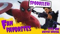 The First Avenger: Civil War - Unser episches SPOILER-Special: Ist das wirklich Marvels Bester?