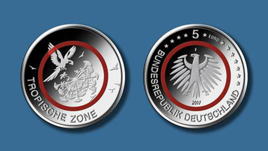 Neue 5 Euro Münze 2017 Motiv Preis Reservierung Giga