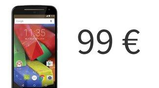 Schnäppchen: Moto G (2014) für 99 Euro