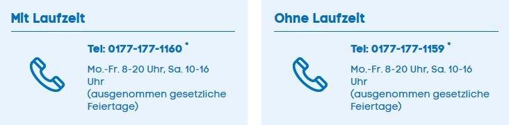 Blau.de Hotline