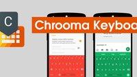 Chrooma Keyboard ab sofort kostenlos im Play Store