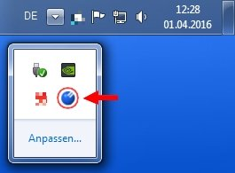 Clipboard Manager Ditto Taskleiste